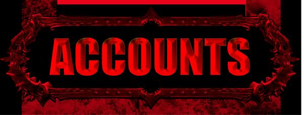 Accounts website