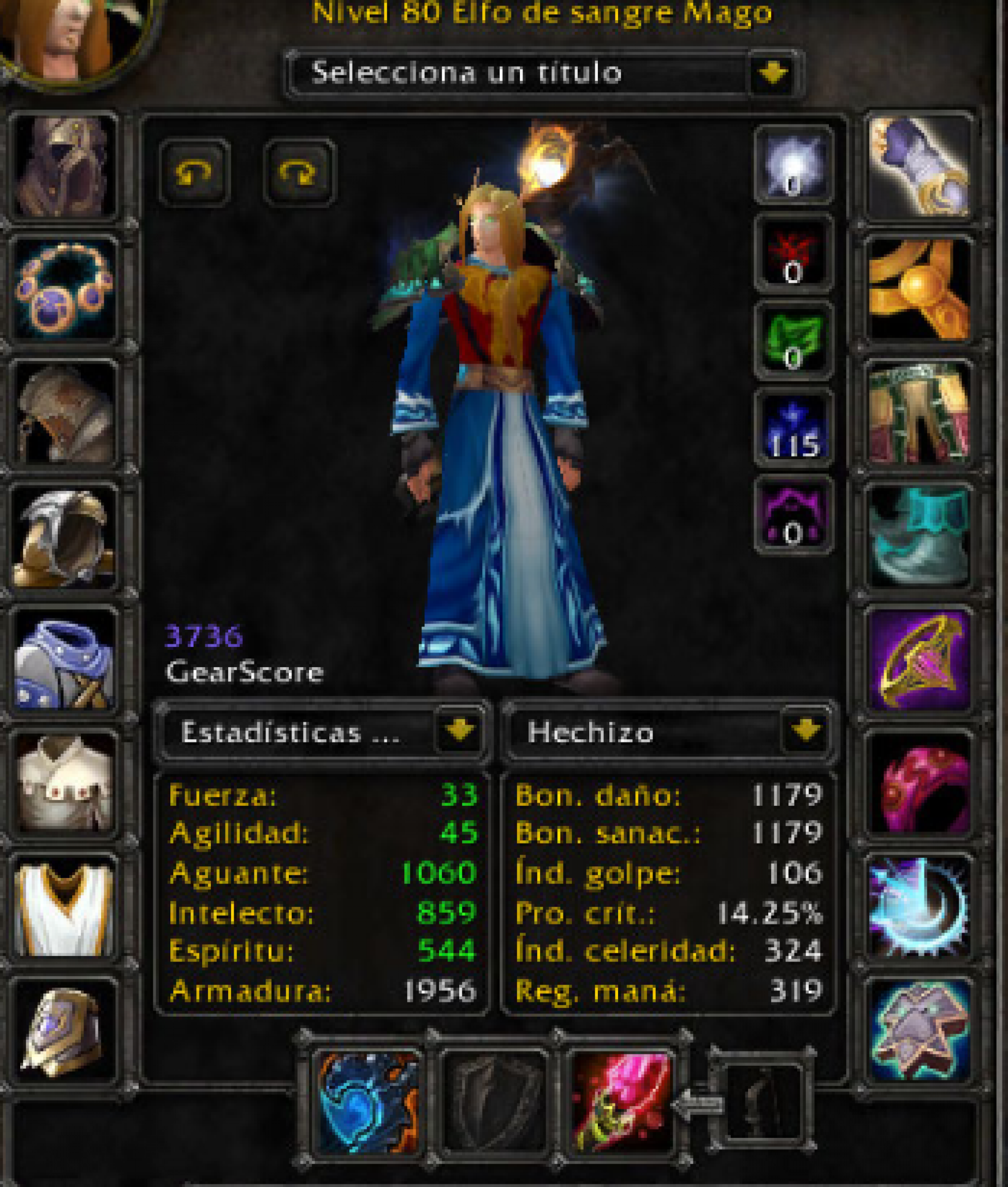 Blood elf male mage mograine gg 4