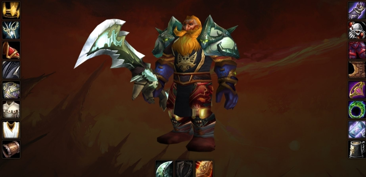 Dwarf male paladin Endless