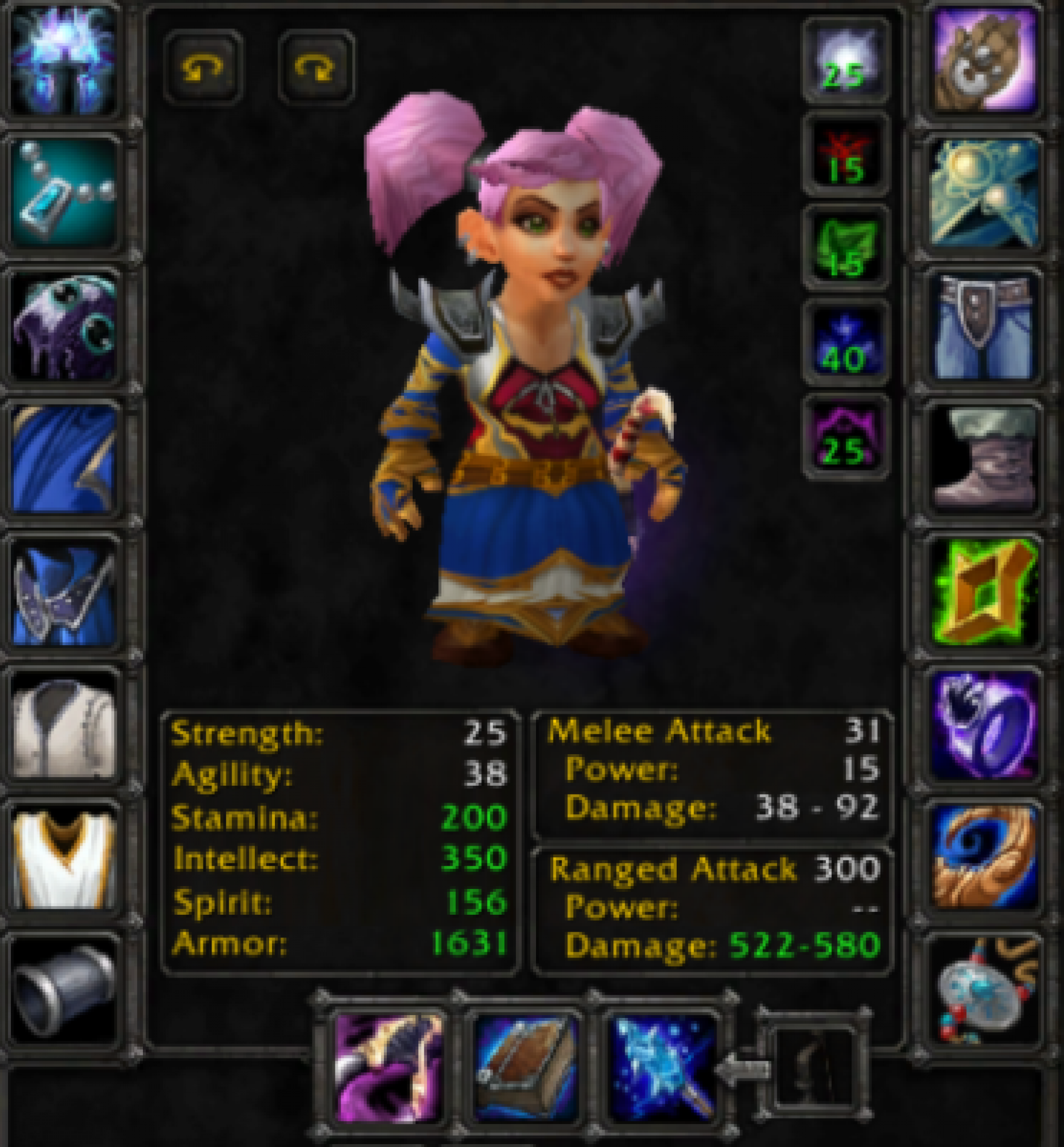Gnome female mage Pyrewood village