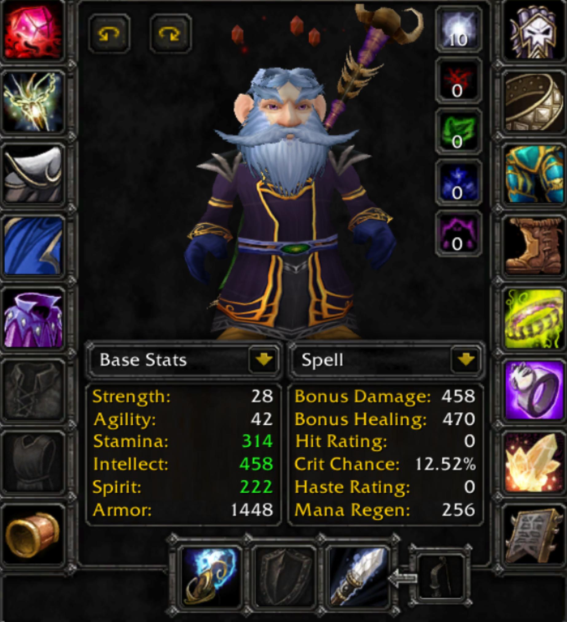 Gnome male mage faerlina 2