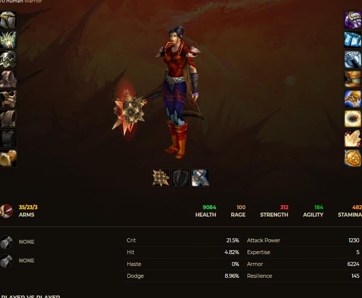 Human female warrior windrunner 2
