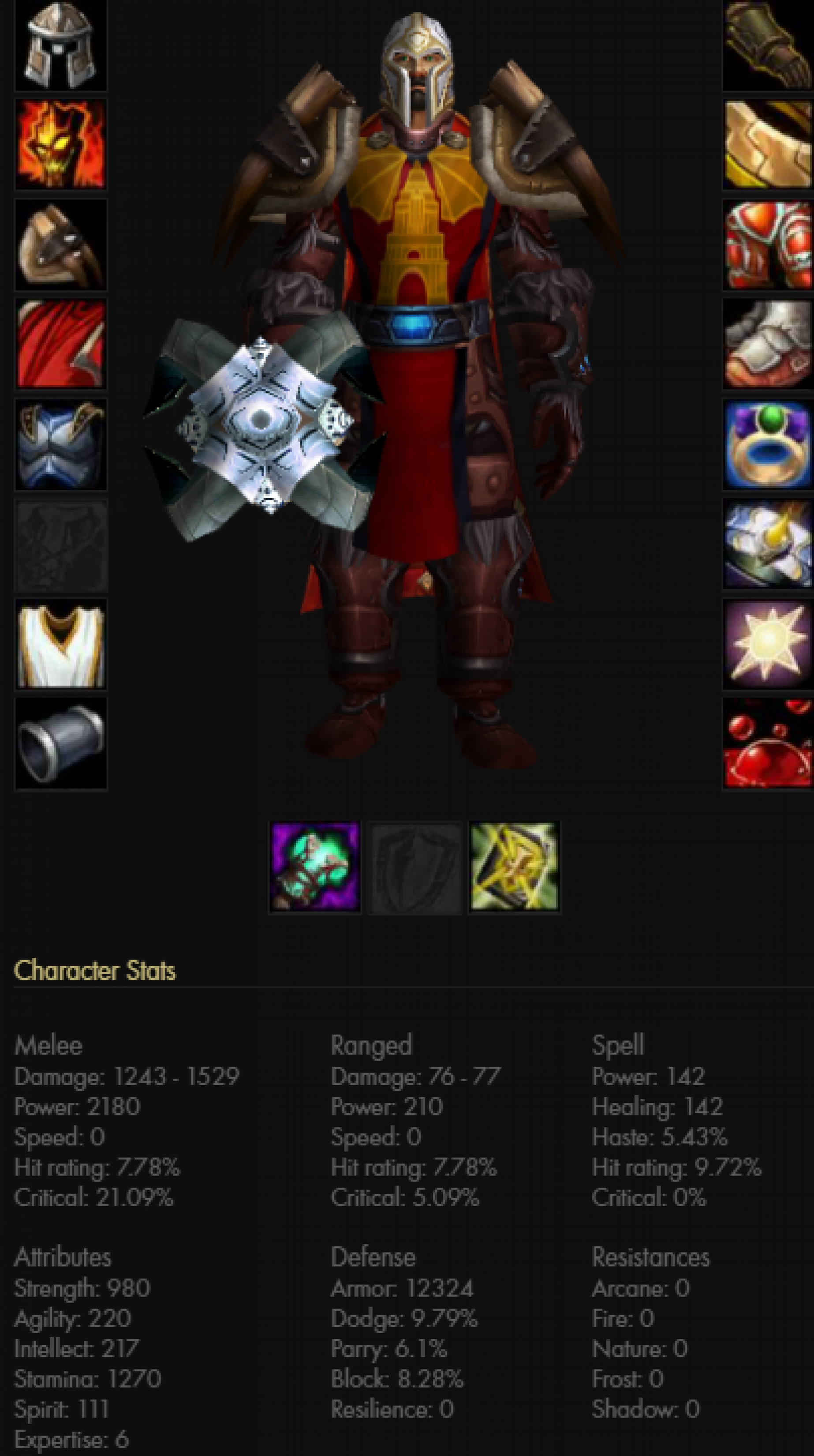 Human male paladin frostmourne 2