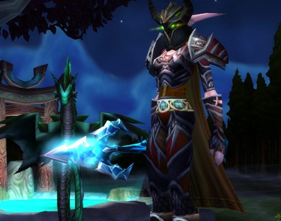 Night elf female hunter Karazhan