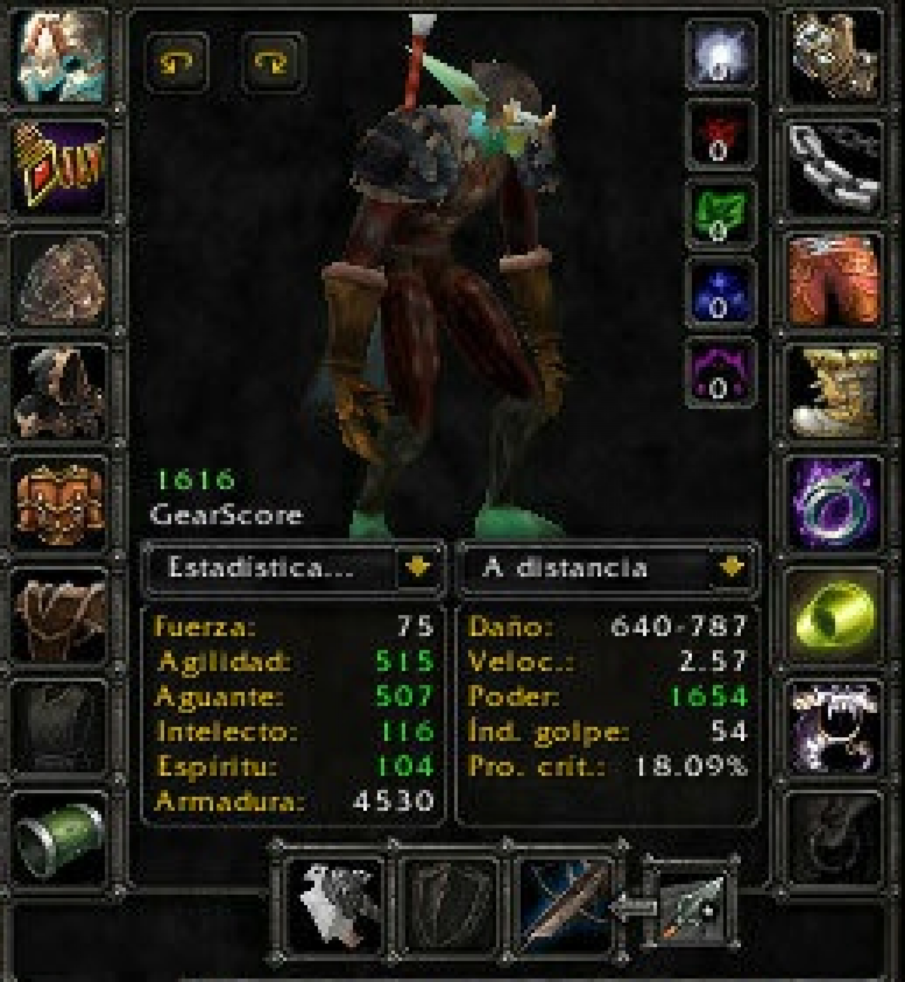 Troll male hunter mograine gg