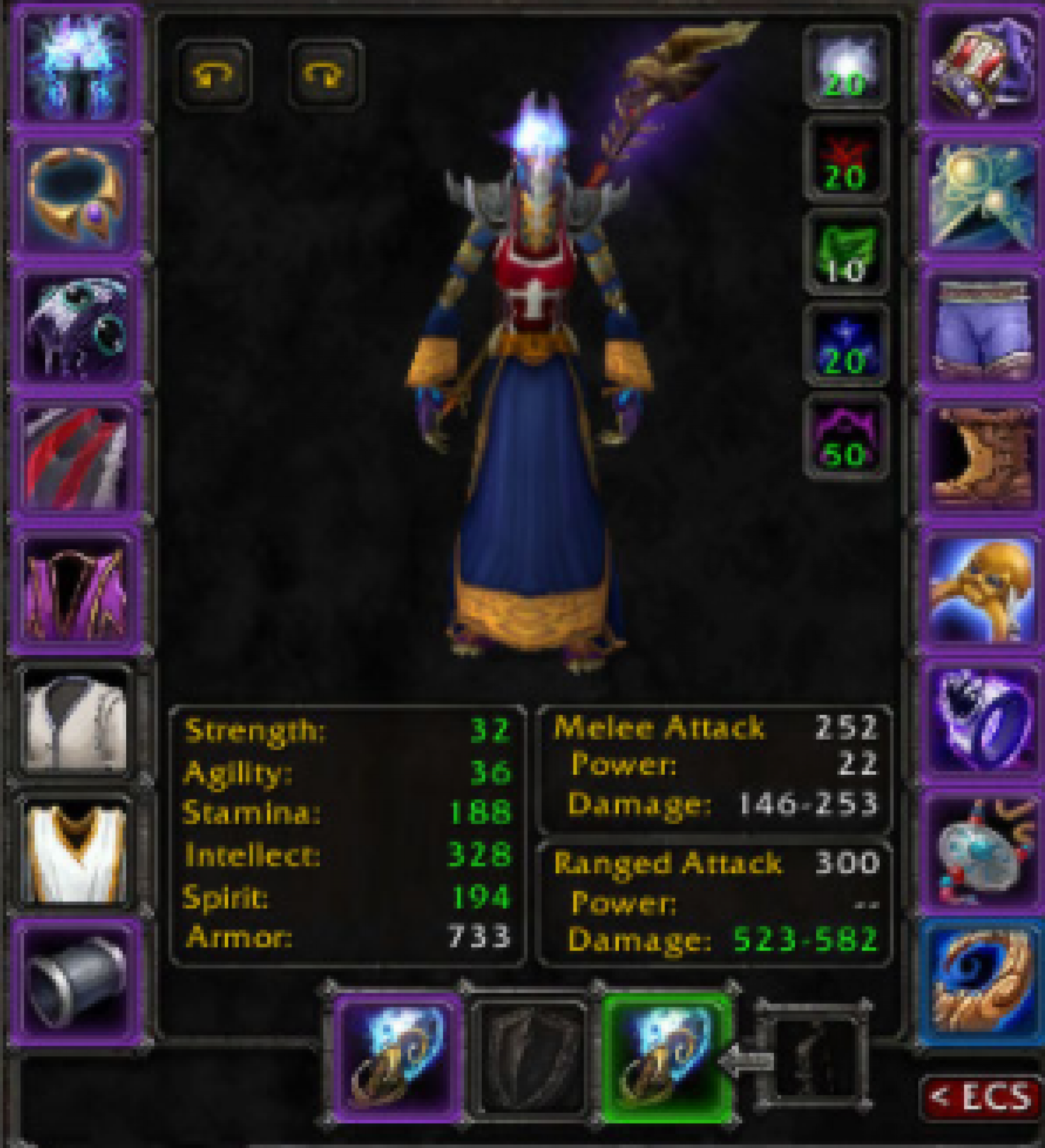 Undead female mage Noggenfogger