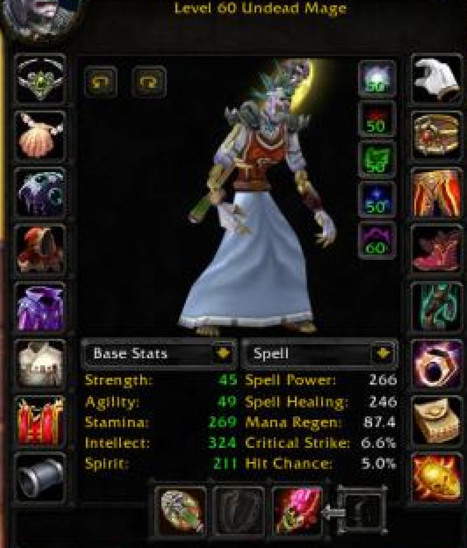 Undead male mage firemaw 3