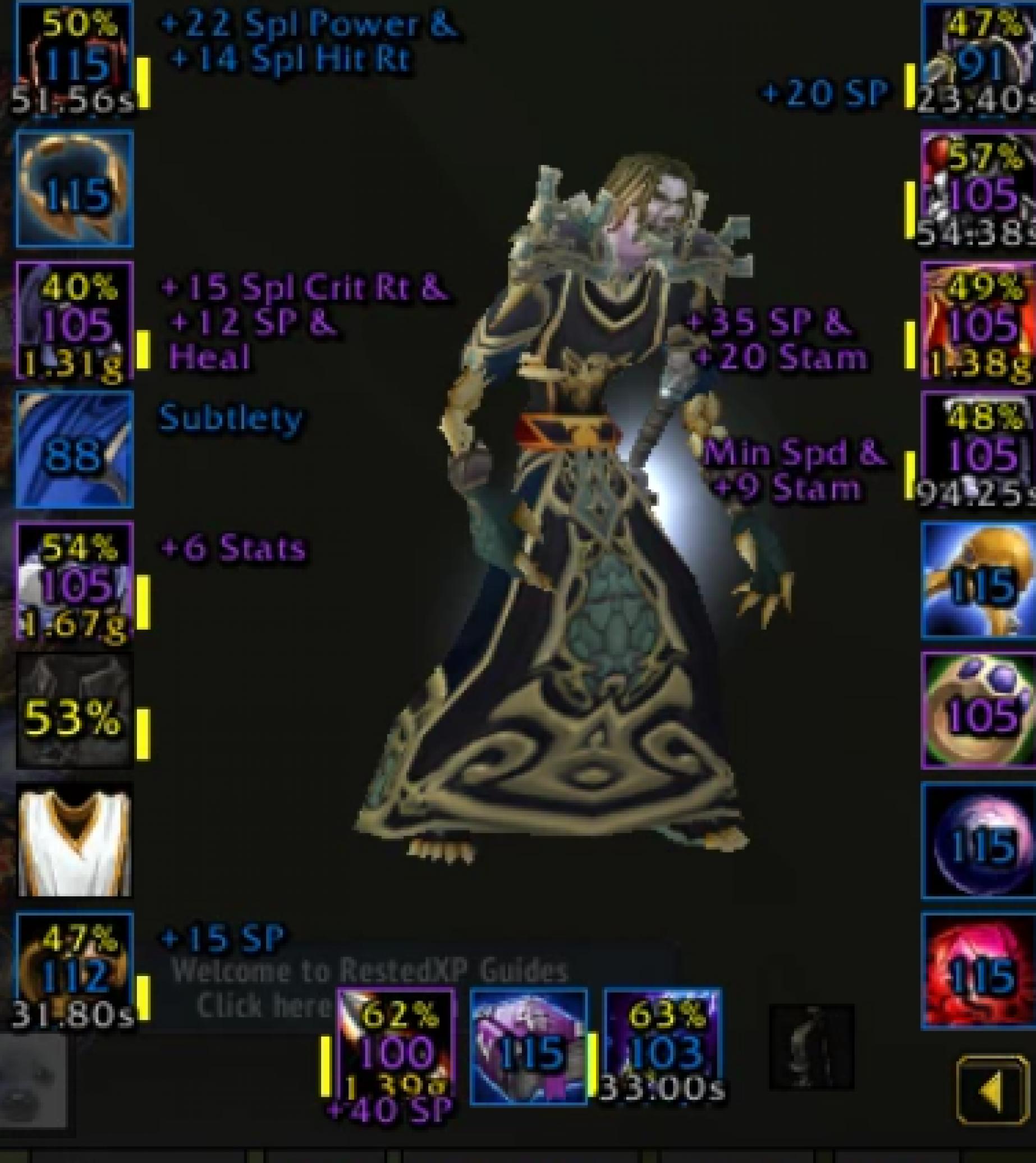 Undead male warlock firemaw 2