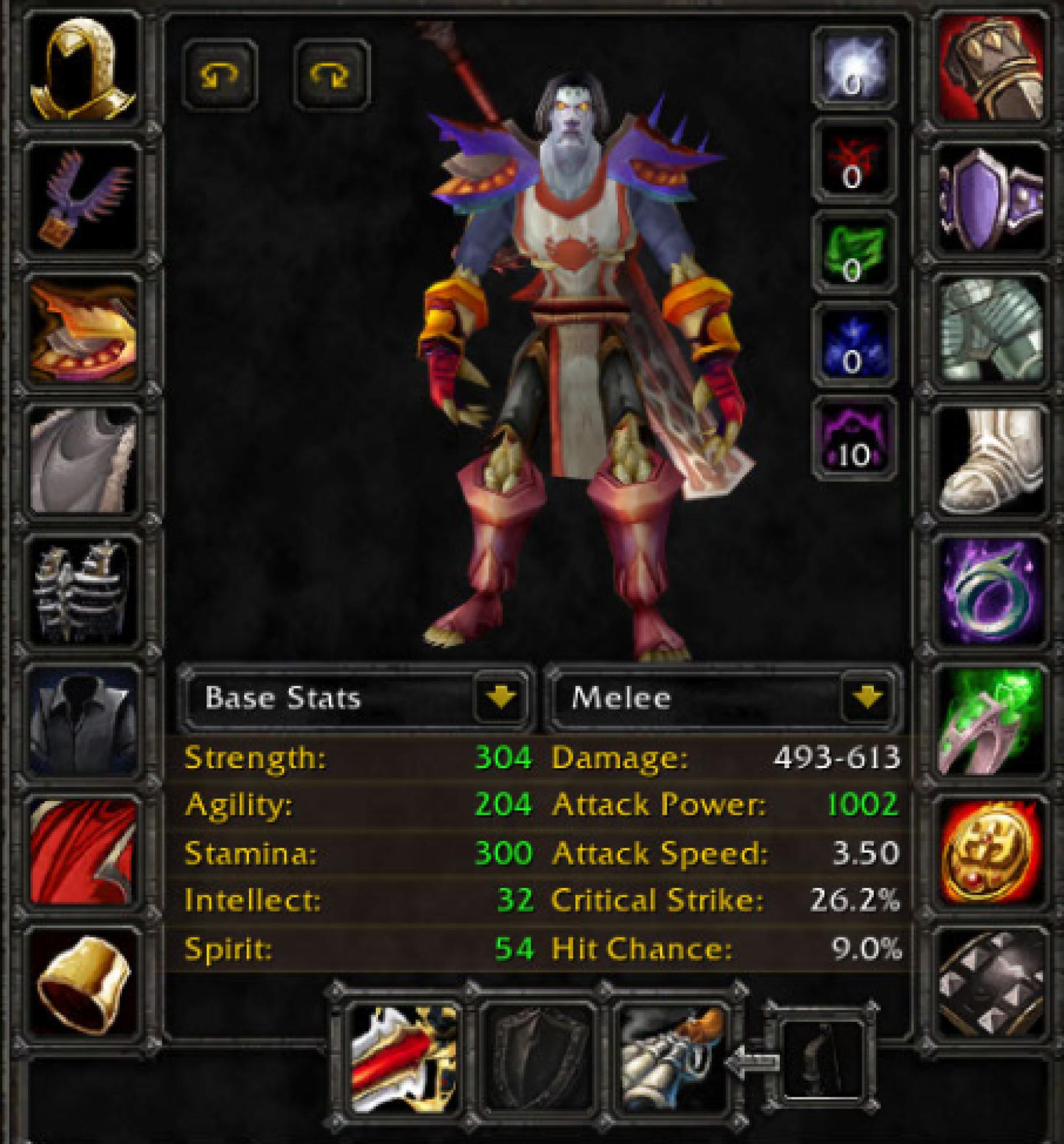 Undead male warrior earthshaker