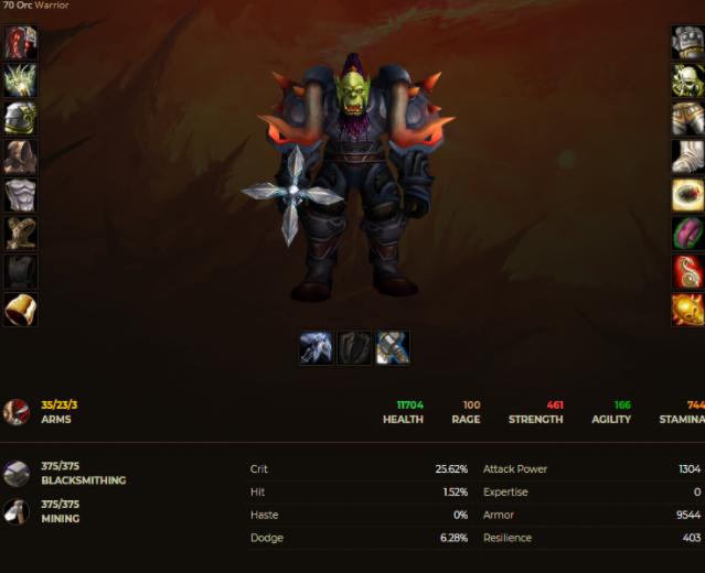 Orc male warrior windrunner 3